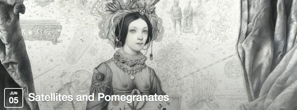 """Satellites and Pomegranates"", Galleri Haaken, 05.06 - 17.08. 2014"